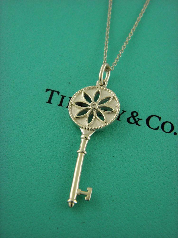 9e8a3e9cd Tiffany&Co Tiffany Keys Daisy Key Pendant Necklace With Diamond . #TiffanyCo  #Pendant