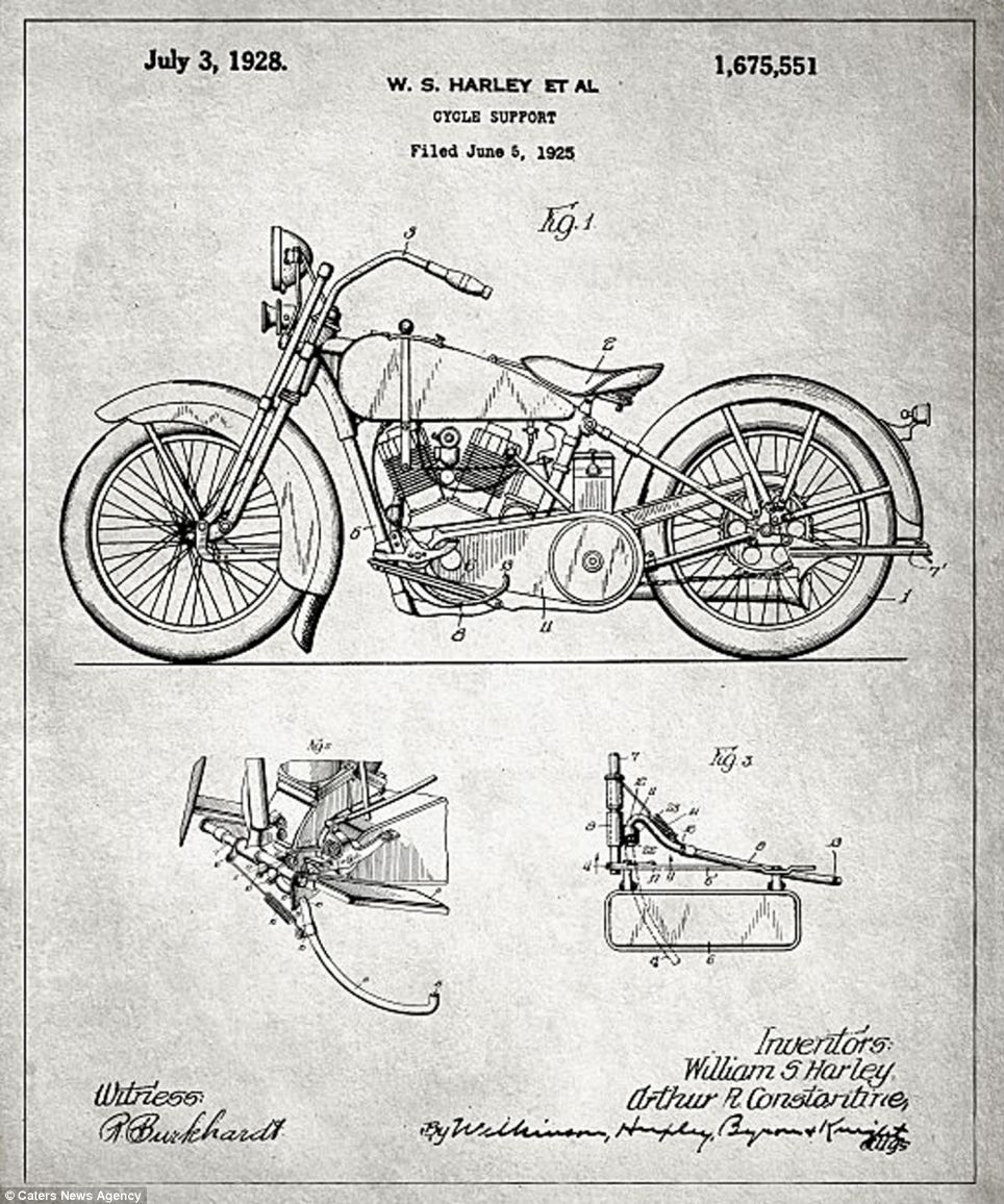 Blueprints of some of the most significative invention of the last ...