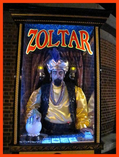 Halloween Fortune Teller Animatronic.Zoltar Fortune Telling Teller Booth Costume From The Movie Big