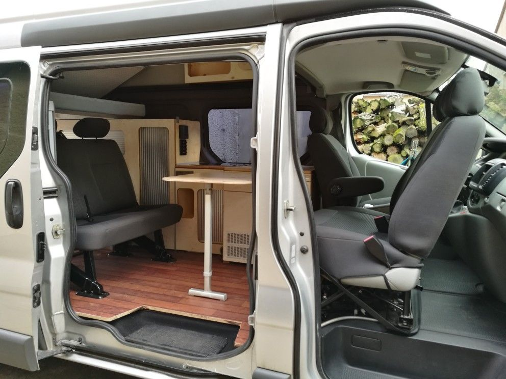 renault trafic l2h2 camper camper renault trafic. Black Bedroom Furniture Sets. Home Design Ideas