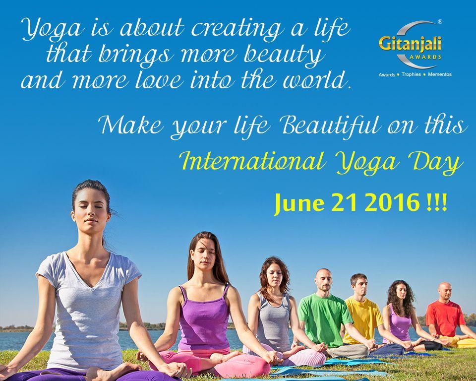 Gitanjali Awards Wishing You All A Happy International Yoga Day Celebrate June21 Yogaday Internationalyogaday Yoga