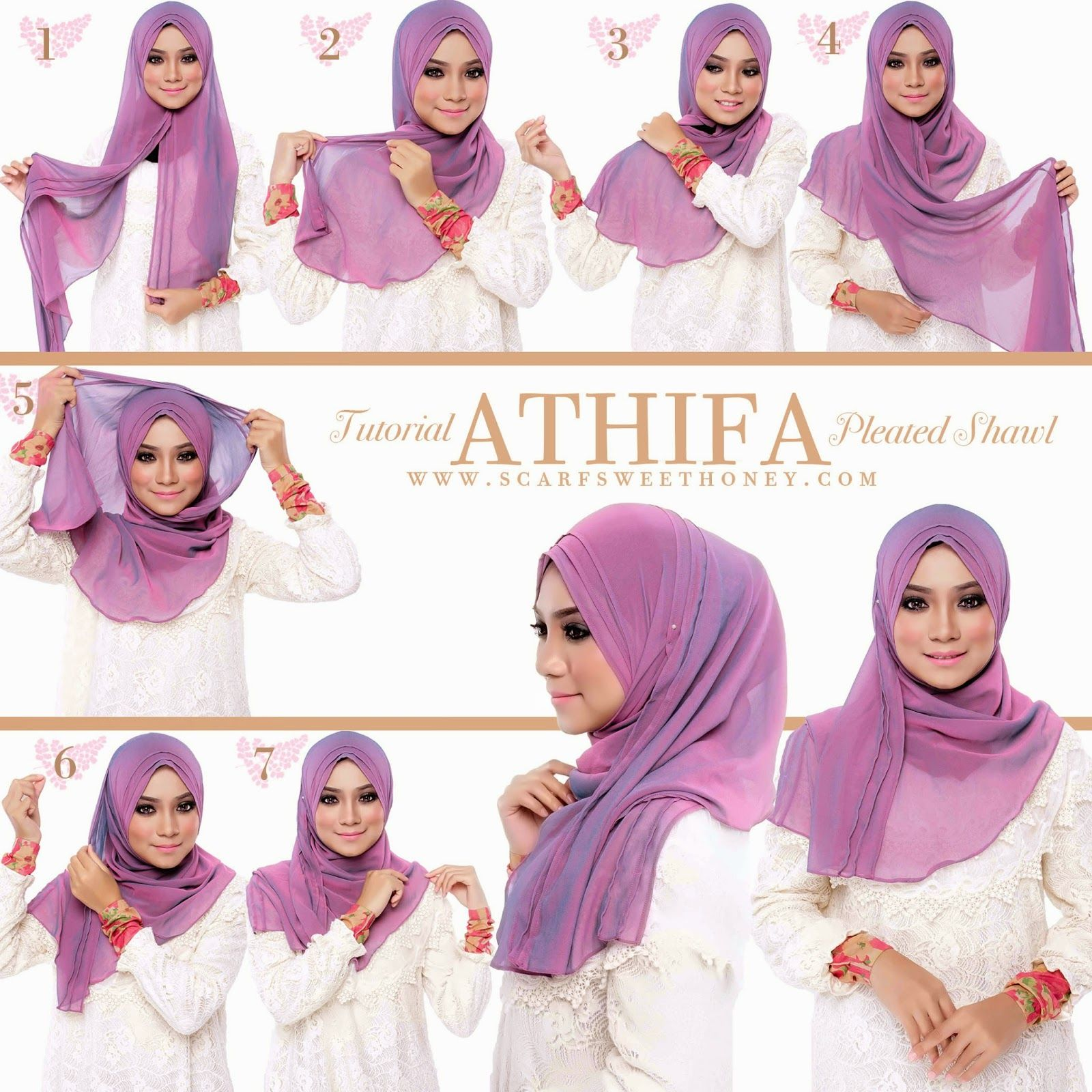 1000 Images About Hijab On Pinterest Hijab Tutorial Hijabs And