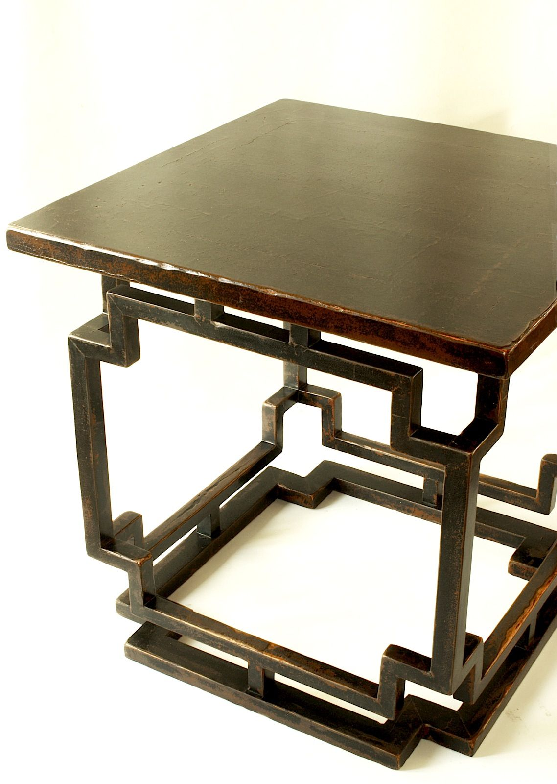 Antique Chinese Black Lacquer Square Table Leather Coffee Table Coffee Table Images Types Of Coffee Tables