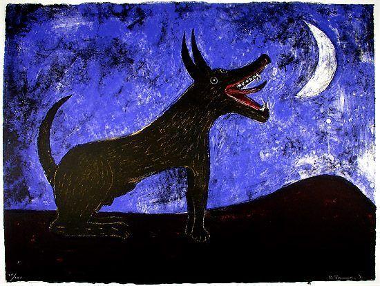 Perro Ladrando A La Luna Rufino Tamayo Rufino Tamayo