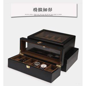 Photo of 腕時計ケース 収納ケース 高級収納ボックス ウォッチケース コレクション 箱 展示 インテリア おしゃれ 木製 6/10/12本入 :2018SNH201:UHD – 通販 – Yahoo!ショッピング