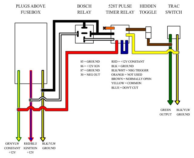 Timed Pulse Relay Ego Diagram Twist