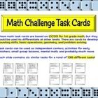 These task cards are ideal for fast finishers, center activities, small groups, morning work, or even mental math. 136 different tasks! $