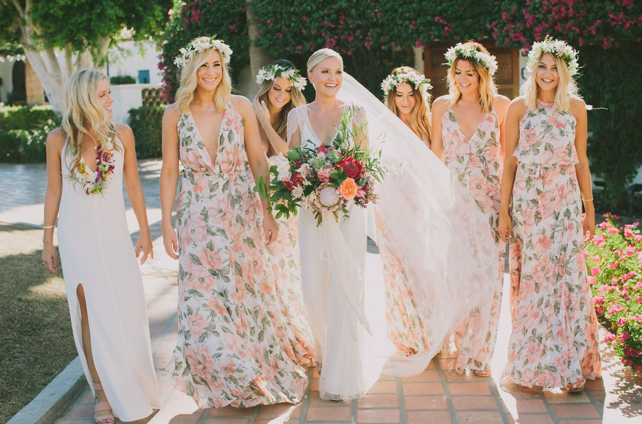 Travel inspired hacienda wedding taylor kevin wedding weddings floral bridesmaid dresses ombrellifo Image collections