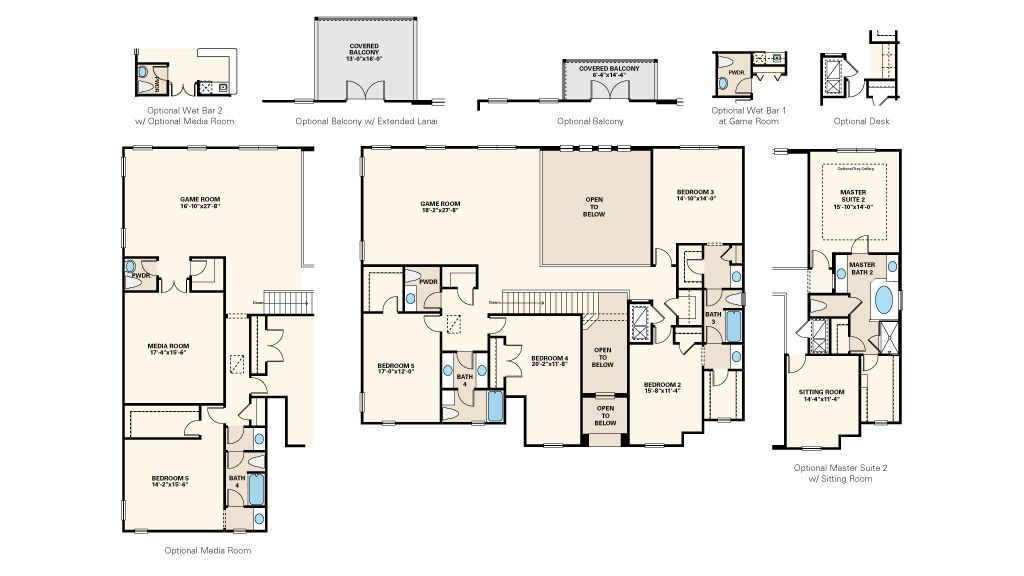 New Homes By Taylor Morrison New Homes Avondale Floor Plans