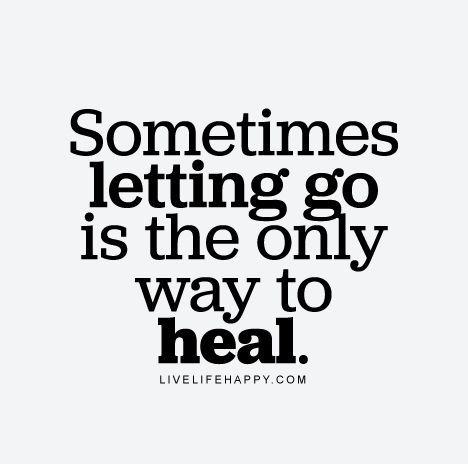 Superbe Sad But True. #healing #lettinggo