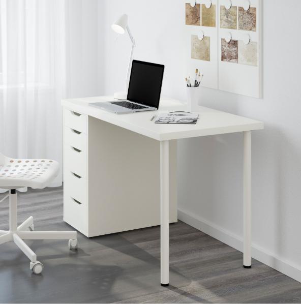 Ikea Linnmon Alex Table White 150x75cm In Auckland Nz Idiya Ltd In 2020 White Bedroom Furniture Bedroom Decor Design Remodel Bedroom