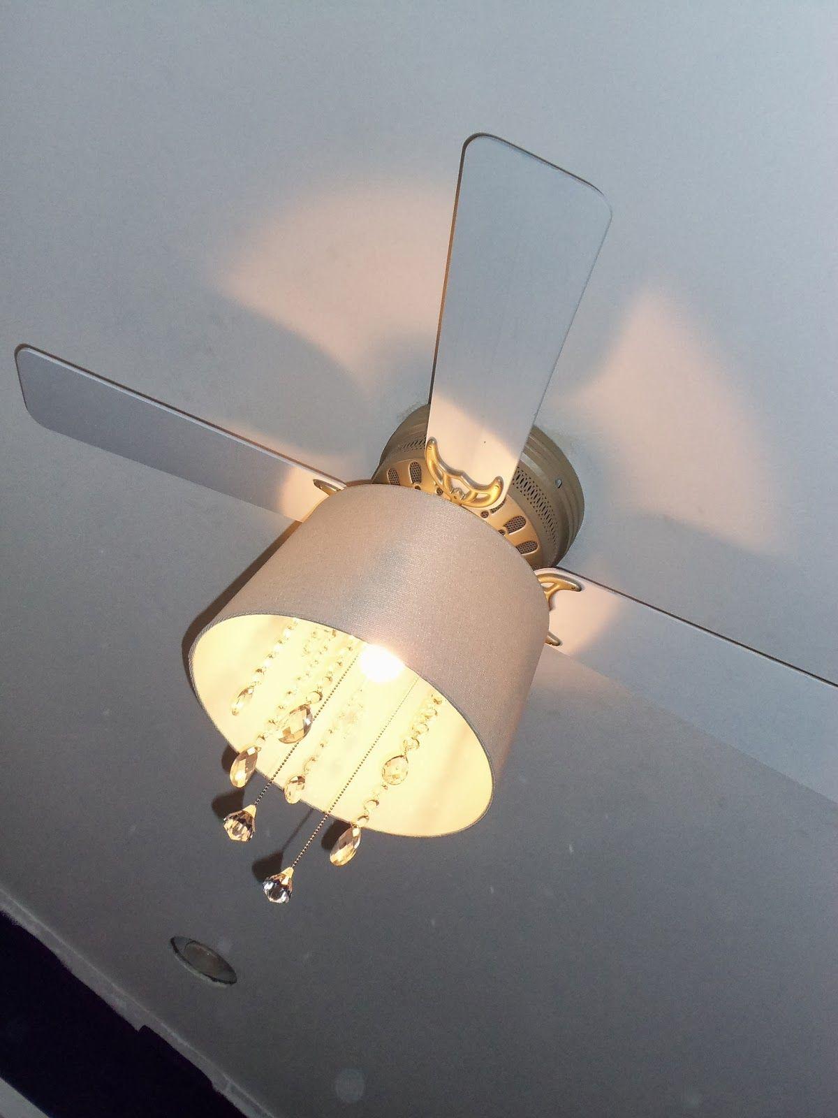 The Schorr Thing DIY Ceiling Fan Chandelier S&B's