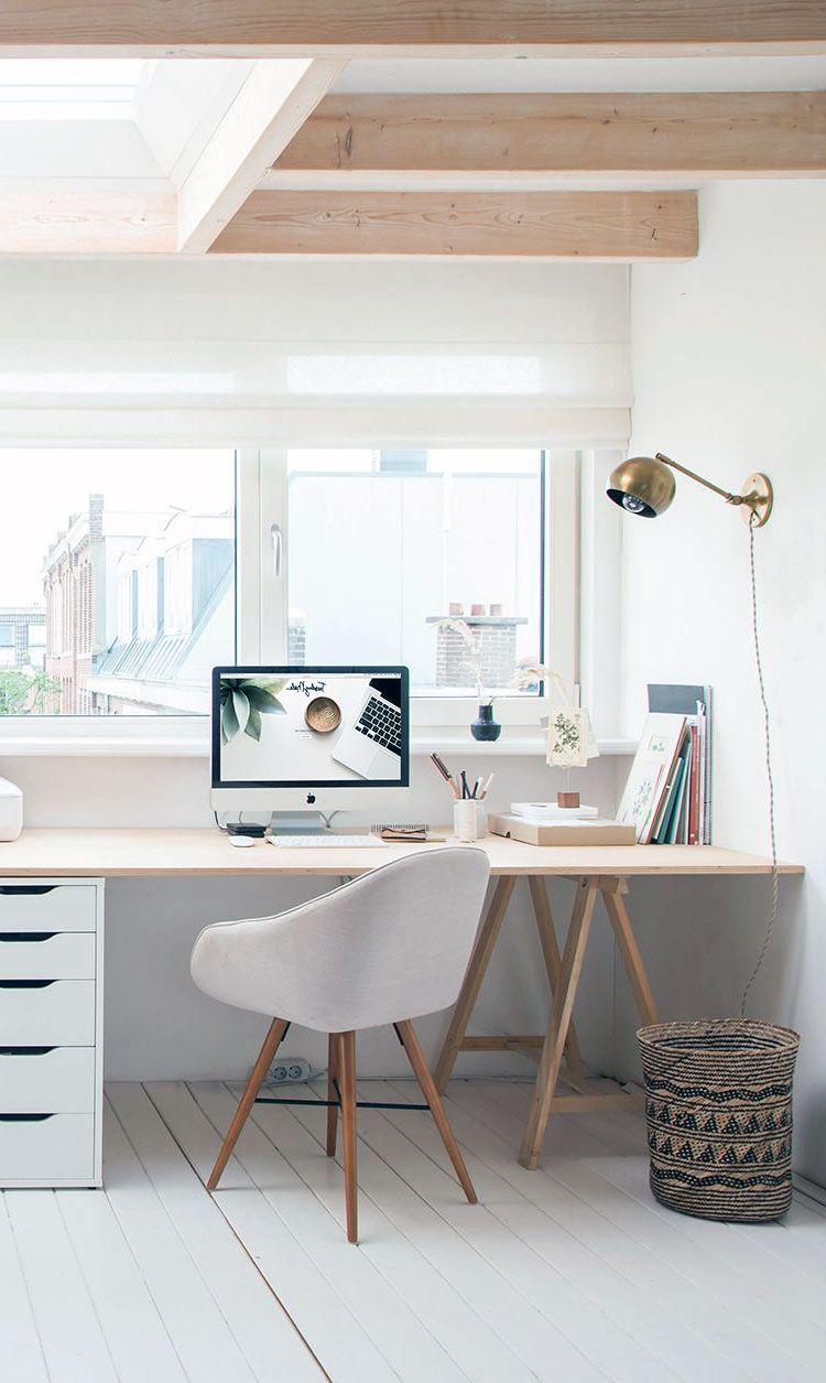 24 Beautiful Scandinavian Interior For Kids Bedroom Ideas In 2020 Scandinavian Interior Bedroom Office Interior Design Home Office Design