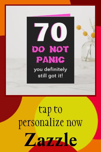 Funny 70th Birthday Card For Women Zazzle Com Birthday Cards For Women 70th Birthday Card Birthday Cards