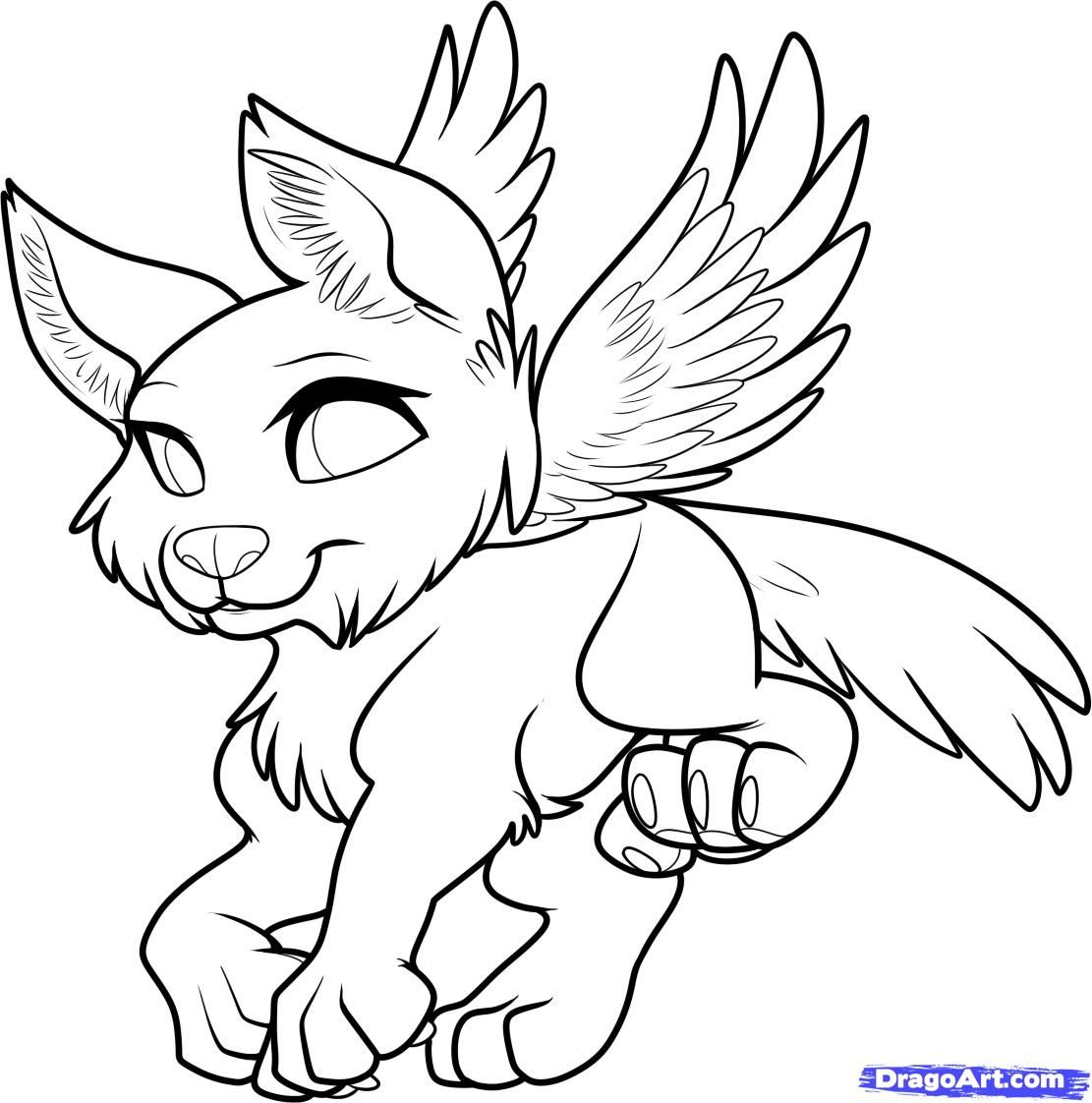 how to draw a flying wolf flying wolf adult coloring pagesdoodle - How To Draw Coloring Pages