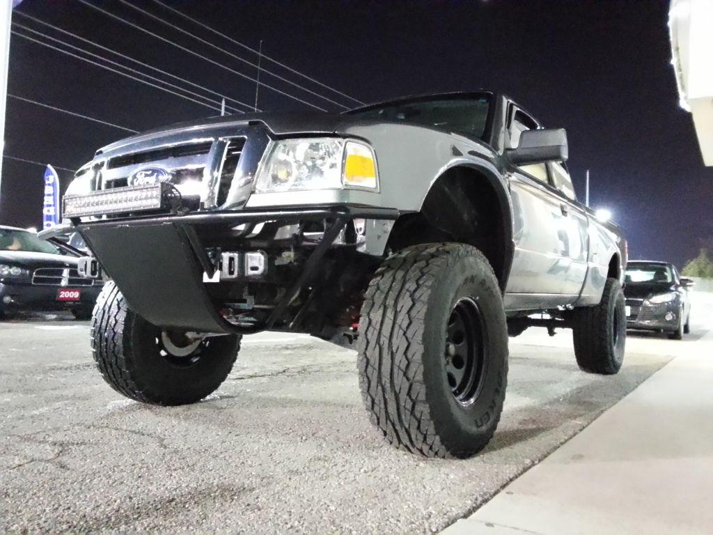 Ford ranger prerunner bumper