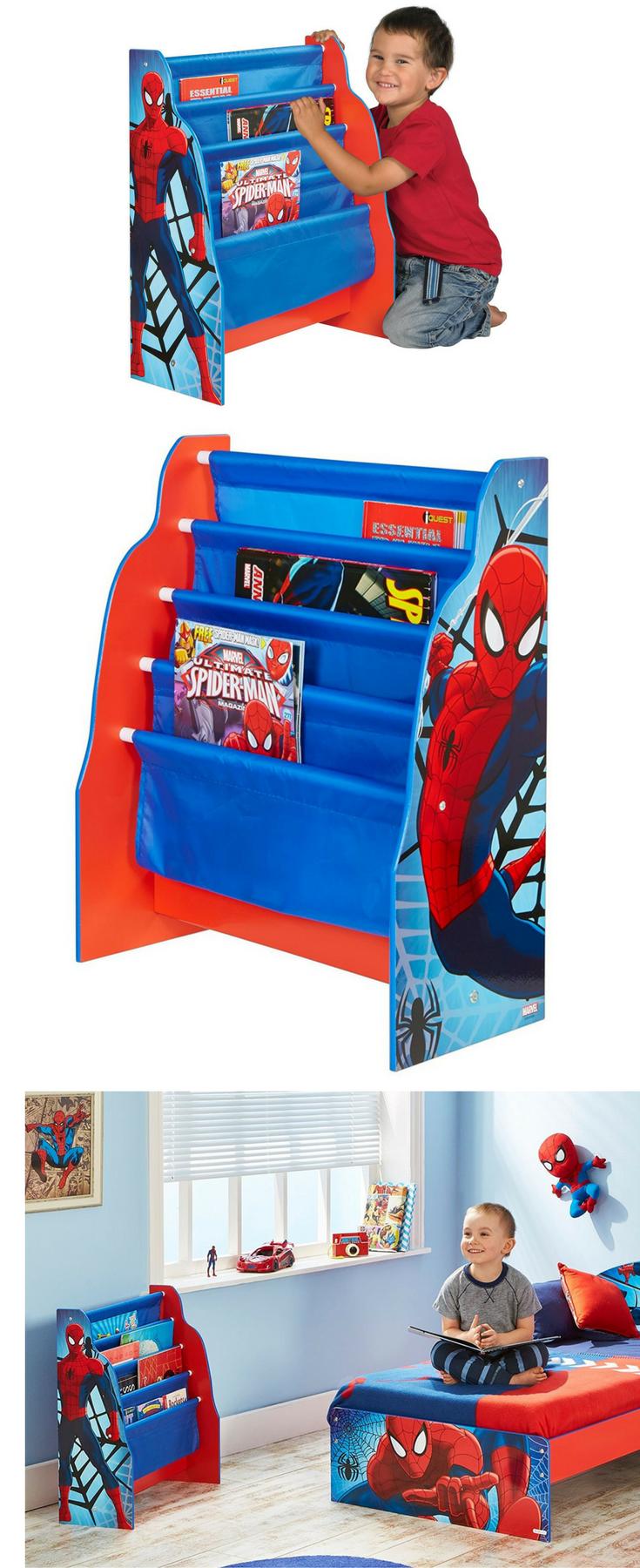 Spider Man Hangefach Bucherregal Fur Kinder