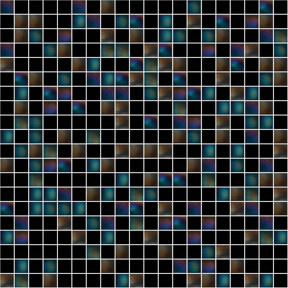 Glasmosaik  Schwarz glänzendes Glasmosaik | Fliesen: Mosaik | Pinterest | Trends
