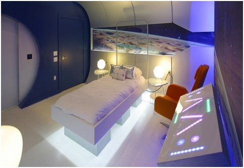 Starship Bedroom For Teenagers From Extreme Makeover Home