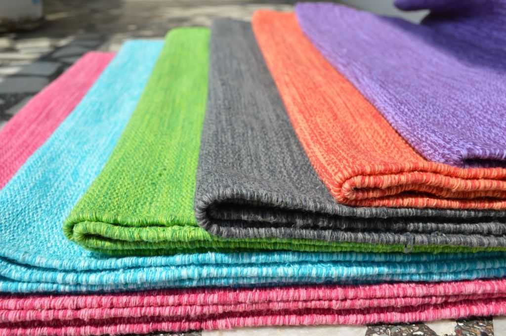 Cotton Yoga Mats Are Made From Diffe Type Of Material Like
