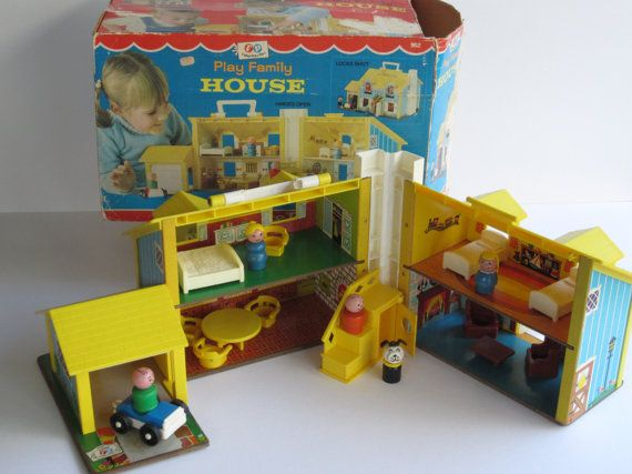 Fisher Price Play Family House 952 Complete By Elementreestudio