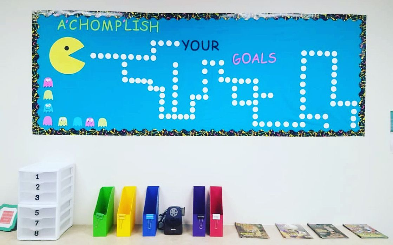 Goals Bulletin Board in 2020 Goals bulletin board