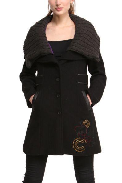Manteau desigual femme modele olga