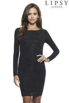 211d3b0b Lipsy Glitter Cowl Back Dress | Dresses | Dresses, Cowl back dress ...