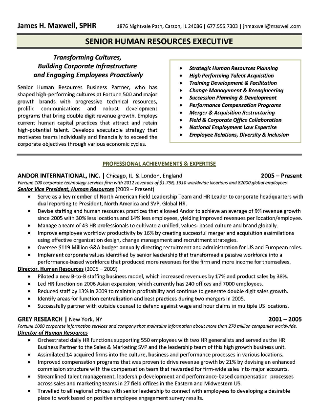 Human Resources Manager Resume Summary Fresh 15 Best Images About Human Resources Hr Resume Templates In 2020 Human Resources Job Resume Samples Human Resources Resume