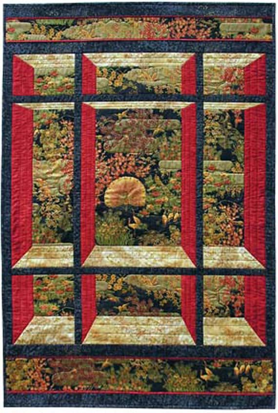 Window On The East Quilt Pattern Quilt Woman Diy Quilting