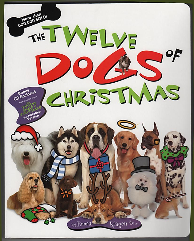The book that inspired the film - The Twelve Dogs of Christmas ...