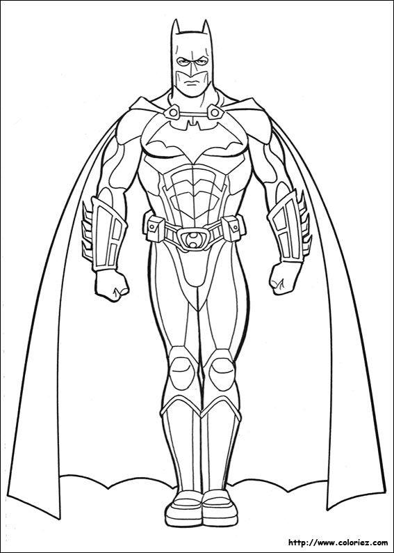 coloriage batman | kas | Colores, Dibujos para colorear, Batman para ...