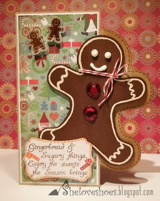 Cricut Gingerbread Cartridge