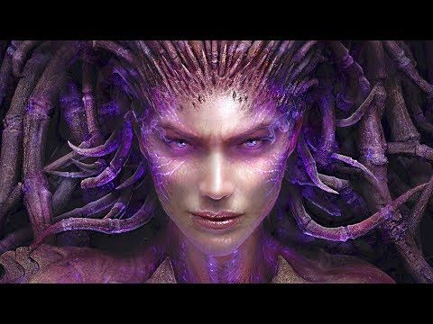 Starcraft Ii Heart Of The Swarm Pelicula Completa En Espanol 1080p 60fps Youtube Kerrigan Starcraft Sarah Kerrigan Starcraft