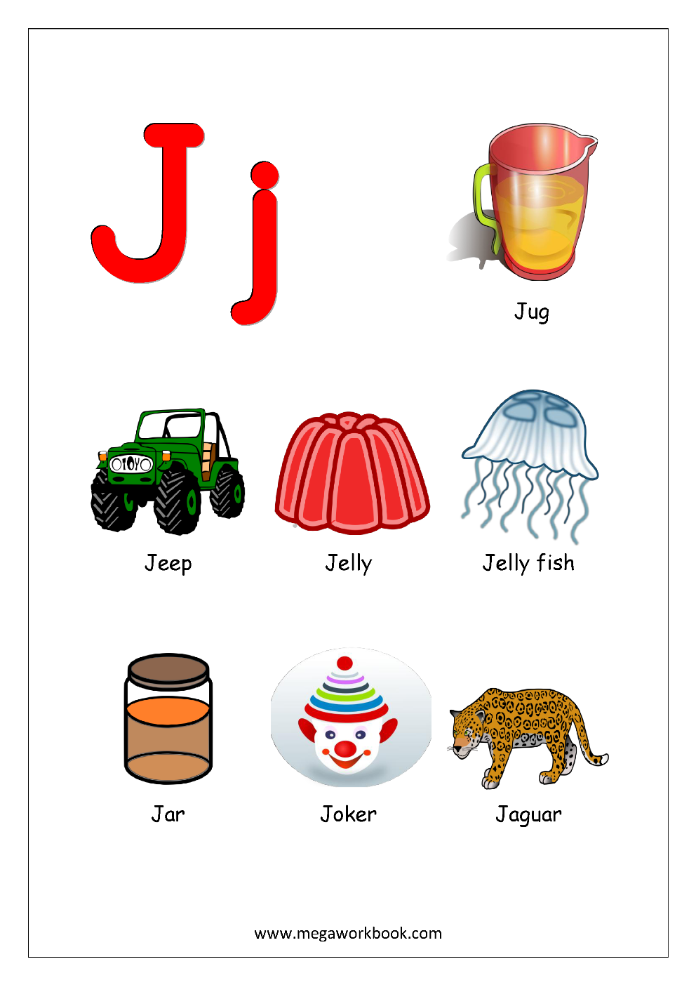 animals that start with the letter j free printable worksheets alphabet reading 20458 | 688b6019bce2ea172762332c13956fef