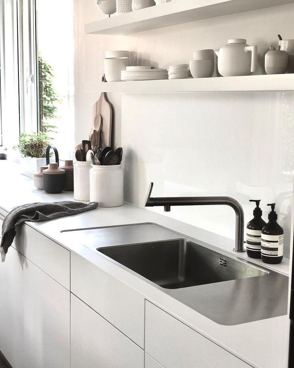 43 Nice Ideas For Modern Scandinavian Kitchen Ideas