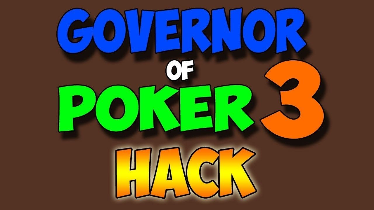 Governor of poker 3 hack best cheats get absolutely free