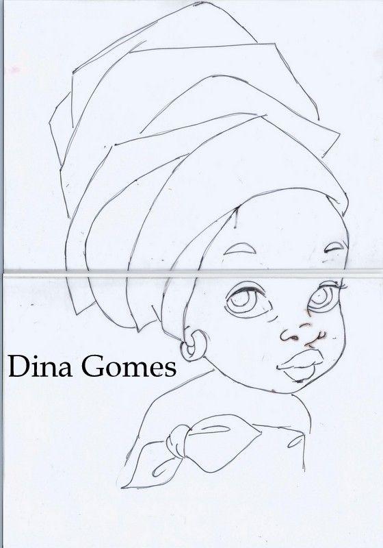 Risco Pintura em tecido | Arte | Pinterest | Africanos, Pinturas y ...