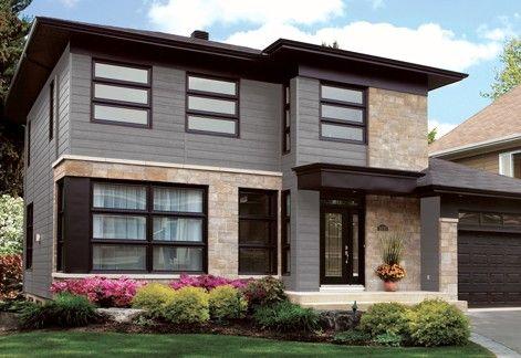 Canexel Engineered Wood Siding Exterior Design House Exterior