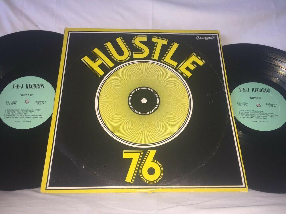 Details About Hustle 76 Hustle 76 T E J Records 2 Lp Funk