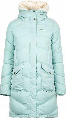 9162558bab2 Куртка утепленная женская Merrell Britannia бирюзовый цвет - купить за 9499  руб. в интернет-