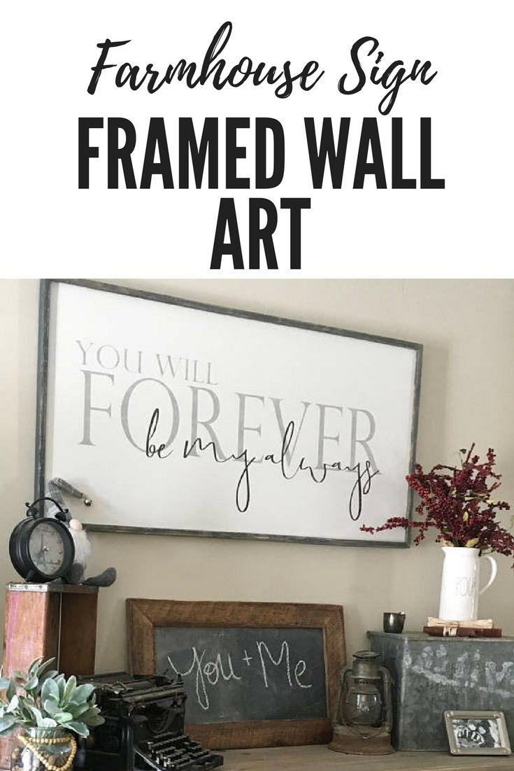 Over The Bed Sign You Will Forever Be My Always Farmhouse Sign Bedroom Wall Decor Large F Bedroom Wall Decor Above Bed Wall Decor Master Wall Decor Bedroom