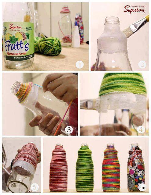 Coco 的美術館: DIY 保特瓶-- PET bottles DIY