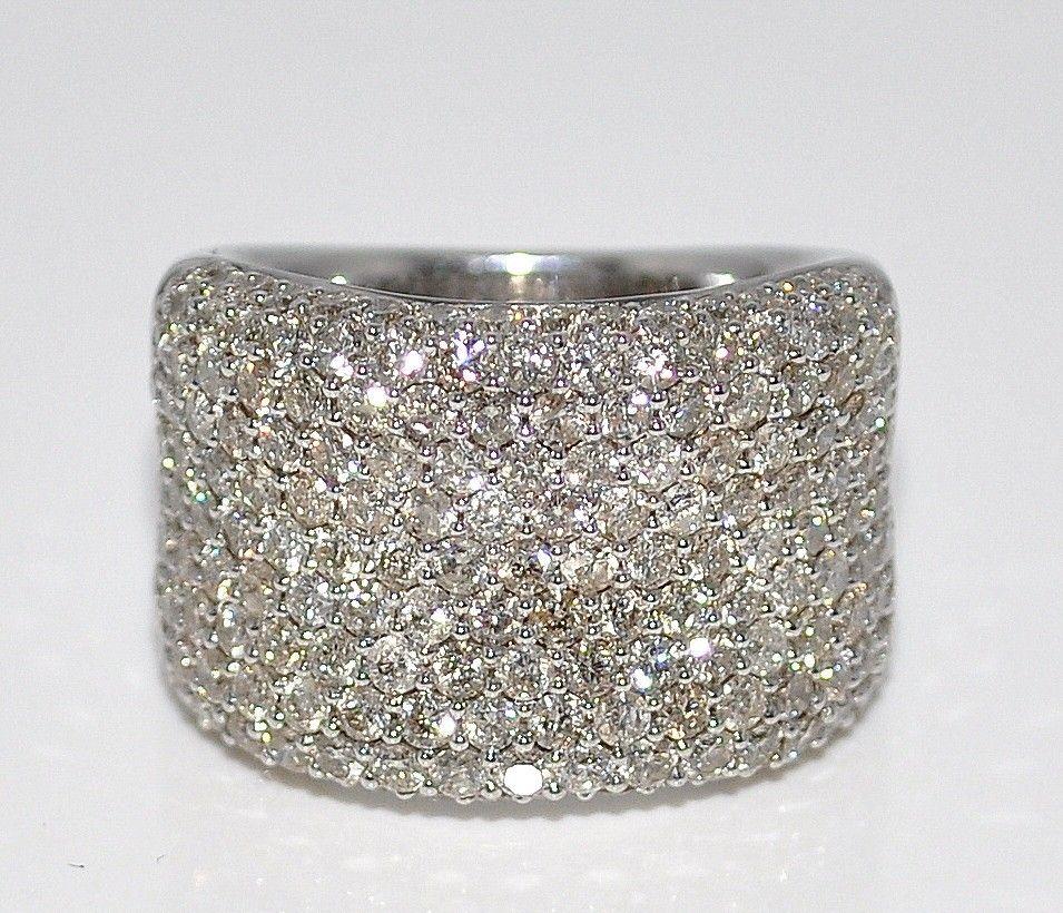 38ctw diamond wedding band right hand anniversary ring