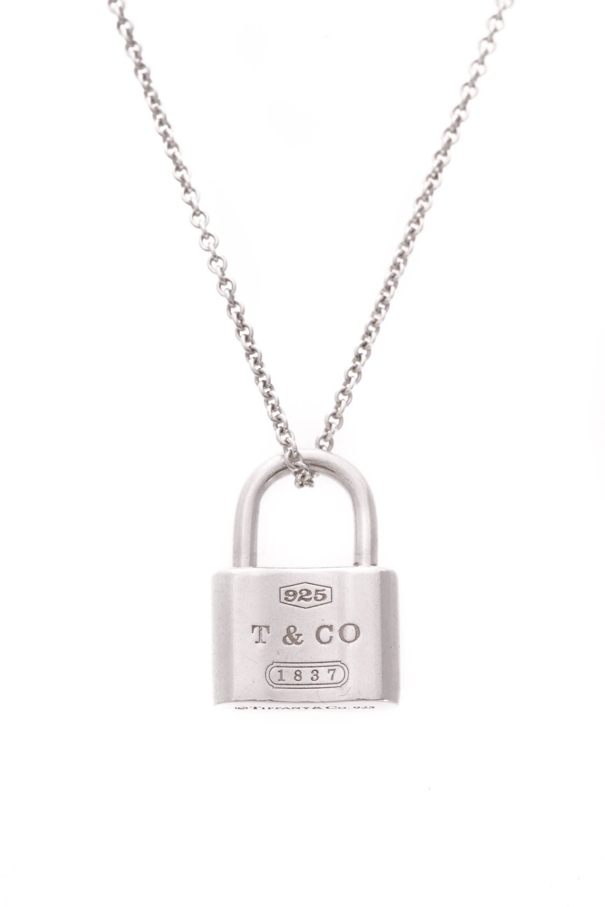 0bf3b94649e0a Tiffany & Co. 1837 Lock Pendant Necklace | Timeless Tiffany & Co. in ...