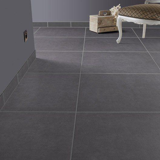 carrelage sol et mur noir effet beton empreinte l 60 4 x l. Black Bedroom Furniture Sets. Home Design Ideas