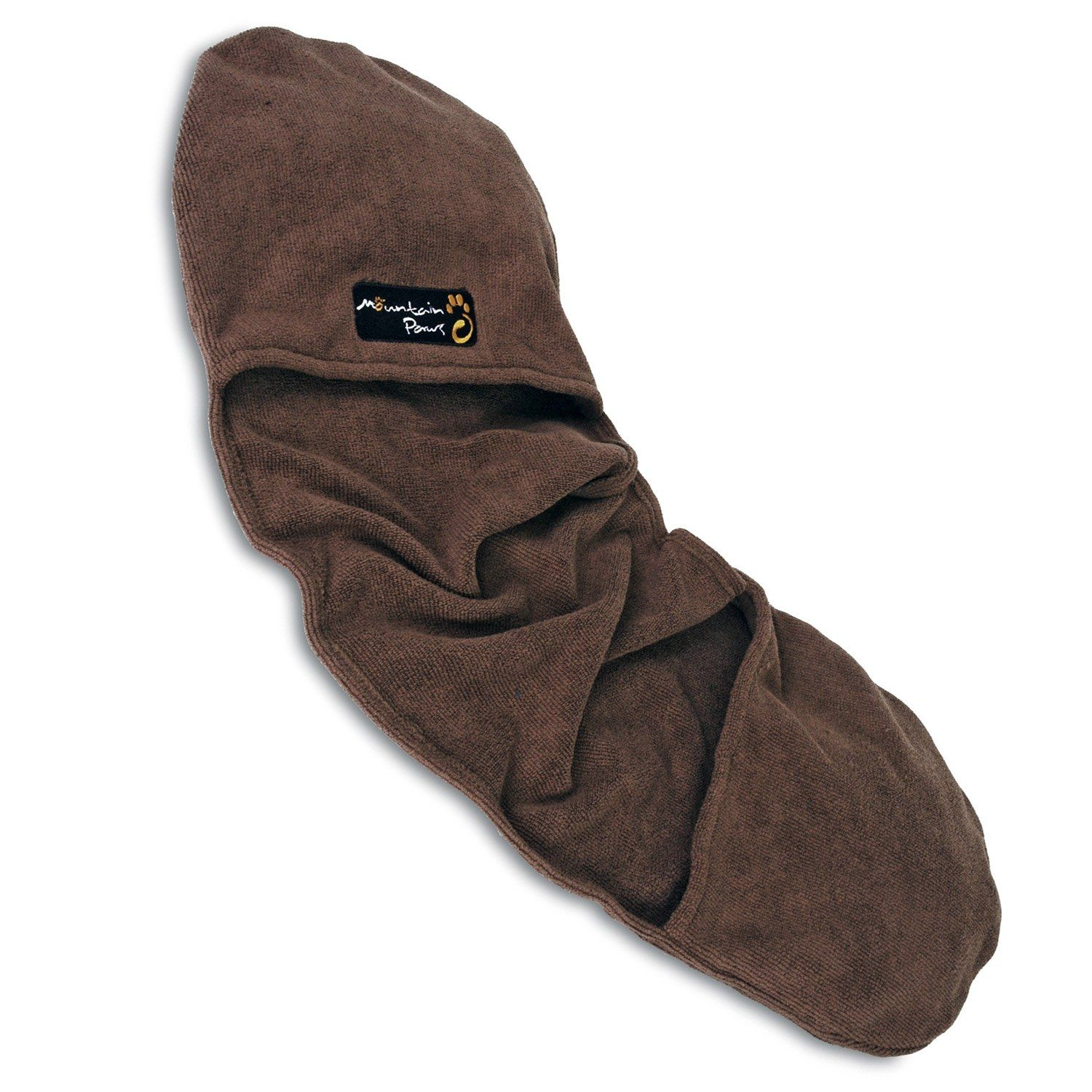 What a cool idea:  Mountain Paws Muddy Glove Dog Towel