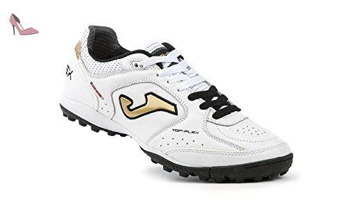 Chaussures de Futsal Top Flex Joma 602 bianco nero oro Turf