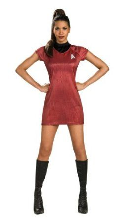 Rubieu0027s Costume Star Trek Into Darkness Uhura Dress Red Large - Go Shop Clothes  sc 1 st  Pinterest : star trek costume dress  - Germanpascual.Com