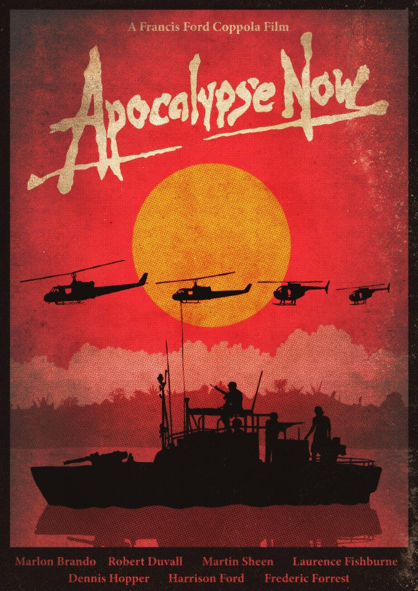 70s poster apocalypse now 1979 francis ford coppola dir